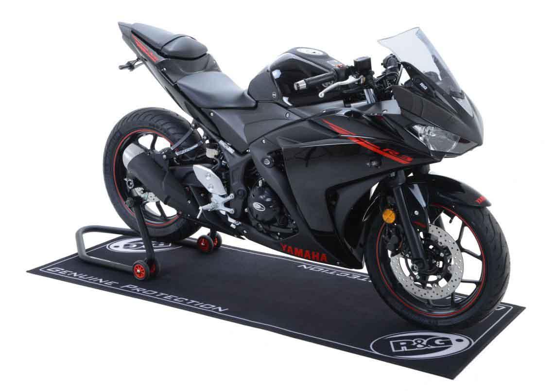 R G Racing Motorcycle Garage Mat 2m X 0 75m